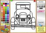 Coloring Old Car